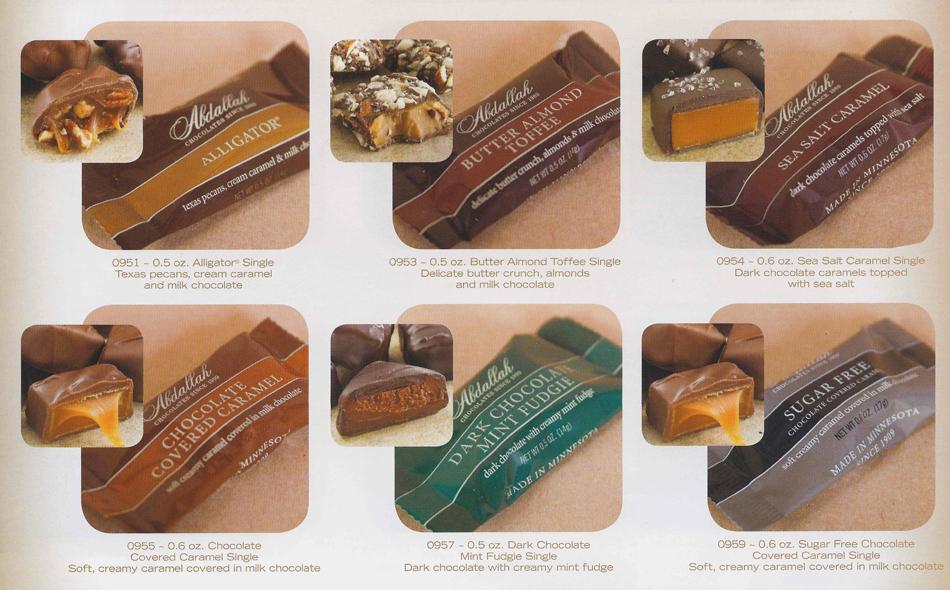 Chocolate Singles Individual
