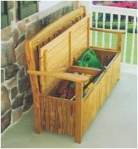 Storage Bench English Garden Furniture