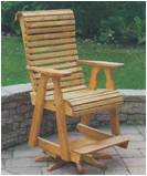 Swivel Pub Chair Amish Wood