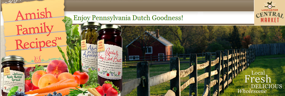 Amish Family Recipes from freckledfrogVA.com