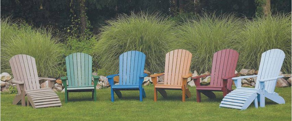 Fan-Back-Chairs - Amish Poly Furniture