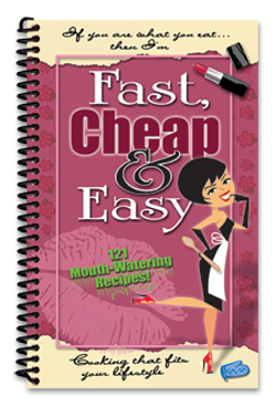 Cook Book Fast Easy Cheap