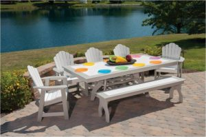 Picnic Table Chairs & Bench