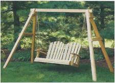 Swing Amish Wood