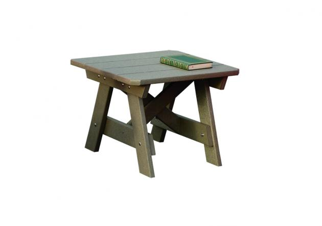 Amish Poly Square End Table