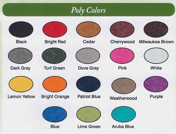 Amish Poly Colors