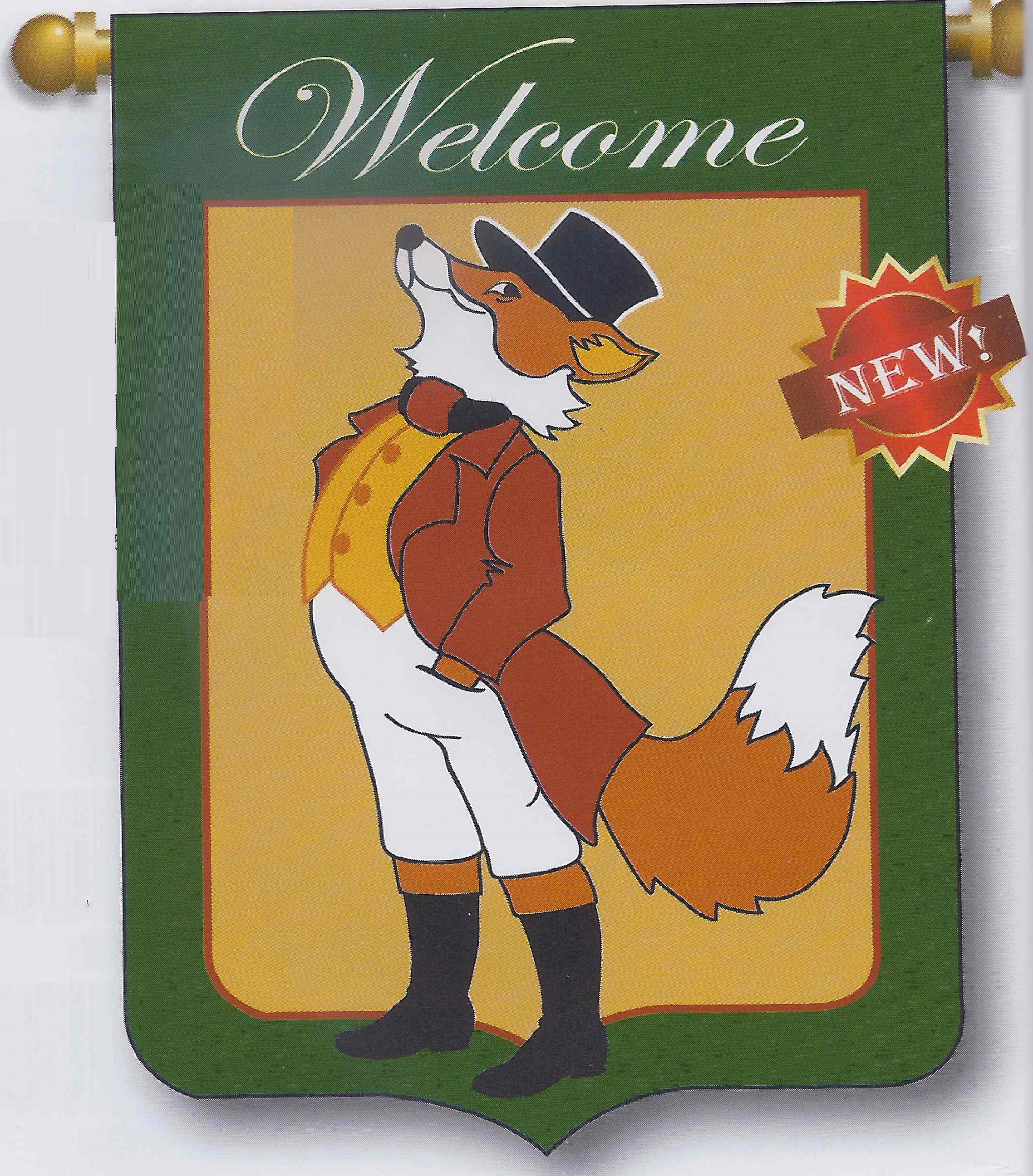 Welcome Fox from freckledfrogVA.com