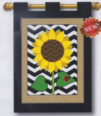 Sunflower flag from freckledfrogVA.com